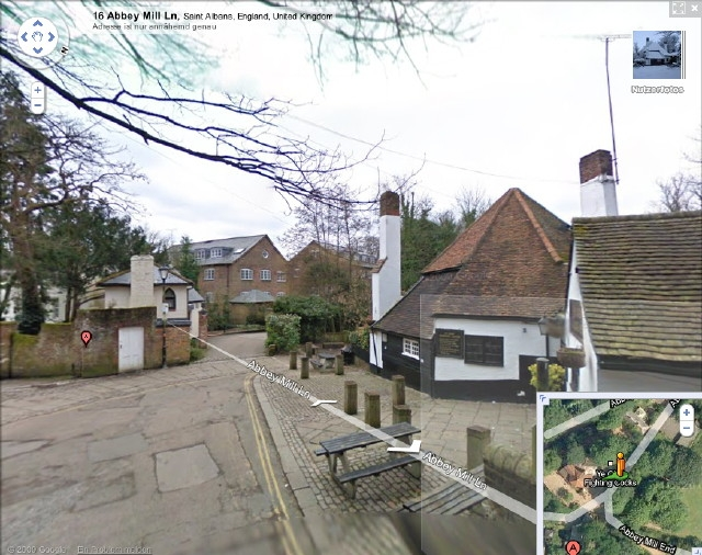 screenshot from google streetview